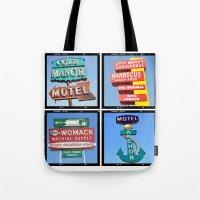 Vintage Signs Composite … Tote Bag
