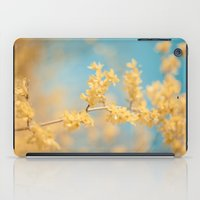 I Dream In Yellow iPad Case