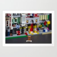 Lilliput Land Art Print