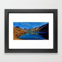 Wastwater English Lake D… Framed Art Print