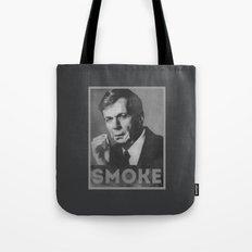 Smoke! Funny Obama Hope Parody (Smoking Man)  Tote Bag