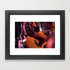 Aaron Gillespie  Framed Art Print