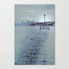 Seattle blues Canvas Print