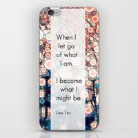 Daily Meditation Quote iPhone & iPod Skin