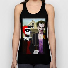 Why So American Gothic? Unisex Tank Top