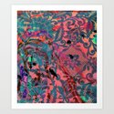 Laced Art Print