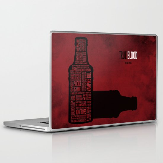 True Blood Laptop & iPad Skin