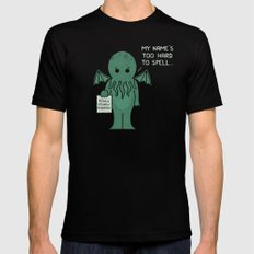 Monster Issues - Cthulhu Black Mens Fitted Tee SMALL