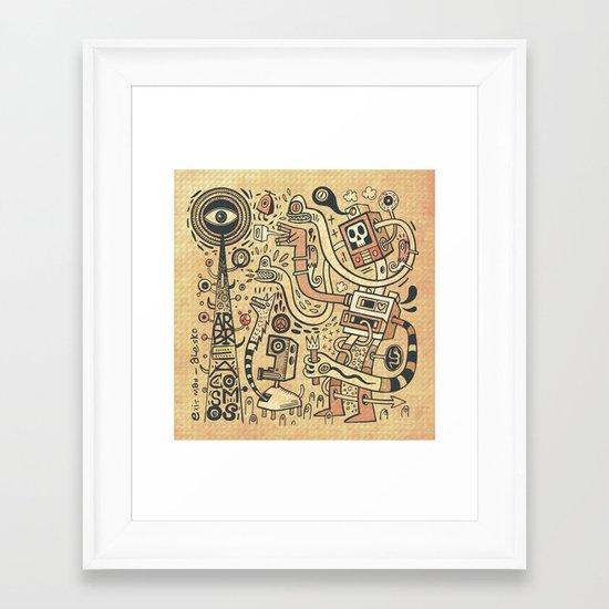 Arbracosmos Framed Art Print