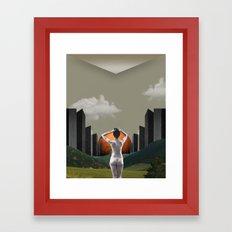 Pastoral Scene Framed Art Print