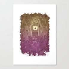 Forest Eye Canvas Print