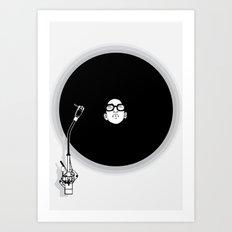 music now Art Print