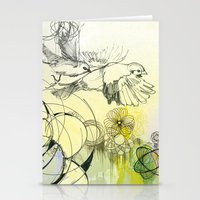 bird life 2 Stationery Cards