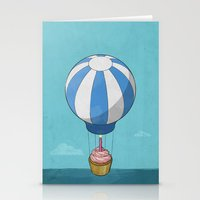 Flying Cupcake Stationery Cards