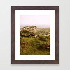 Irish Ram Framed Art Print