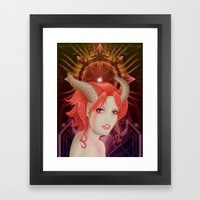 Eris Discordia Framed Art Print