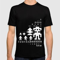 Robotron Mens Fitted Tee Black SMALL