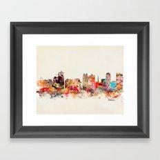 orlando florida Framed Art Print