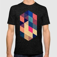 Wyy Mens Fitted Tee Tri-Black SMALL