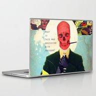 Laptop & iPad Skin featuring What Is This Mad Obsessi… by Alec Goss