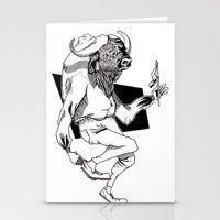 Bison Stationery Cards