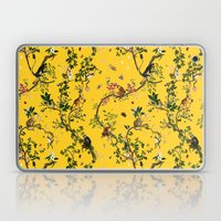 Monkey World Yellow Laptop & iPad Skin