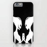 iPhone & iPod Case featuring Schatten by Miss Geisterhausen