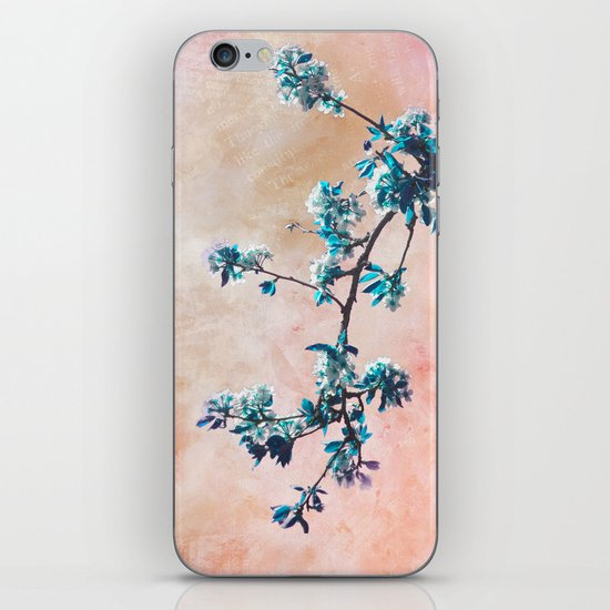FIRST SPRING iPhone & iPod Skin