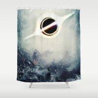 Interstellar Inspired Fi… Shower Curtain