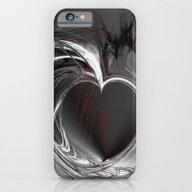 Heart Black iPhone 6 Slim Case