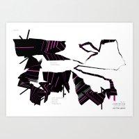 After Flow Art Print