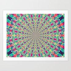 Colour Jackpot Art Print