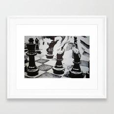 Chess Anyone? Framed Art Print