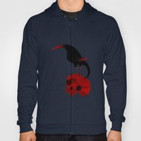 Bird And Skull Hoody