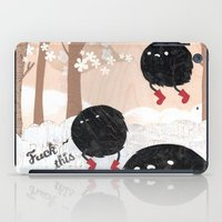 Mr. Furry Pants iPad Case