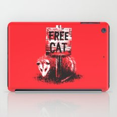 Free cat iPad Case