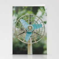 Vintage Fan Stationery Cards