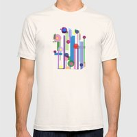 Plink (see also Plink Cherry and Plink Purple) Mens Fitted Tee Natural SMALL