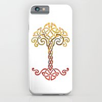 iPhone & iPod Case featuring Woven Tree of Life by Claire Astra