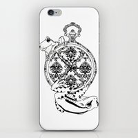 Frog Watch iPhone & iPod Skin