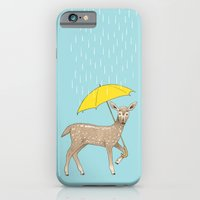 iPhone & iPod Case featuring Rain Deer by Fresh Prints