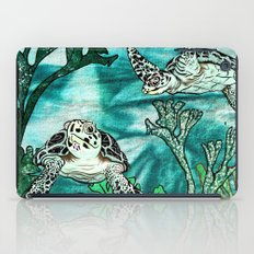 Myrtle Turtle. iPad Case