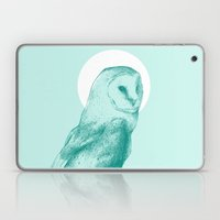 Wise Blue Owl Laptop & iPad Skin