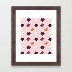 Choc It To Me Framed Art Print