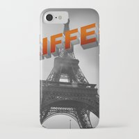 eiffel iPhone & iPod Cases featuring Eiffel by Vin Zzep