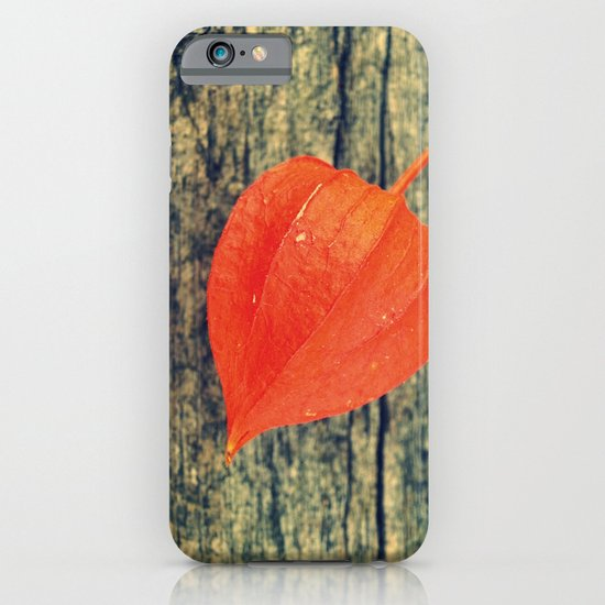 Orange Fall iPhone & iPod Case