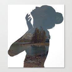 See Right Through Canvas Print