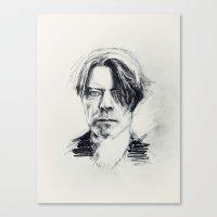 BlackStar. Canvas Print