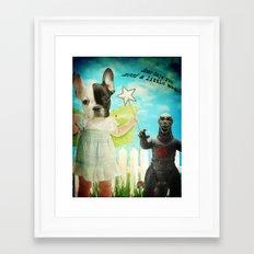 A Little Magic Framed Art Print