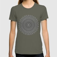 Mandala Womens Fitted Tee Lieutenant SMALL